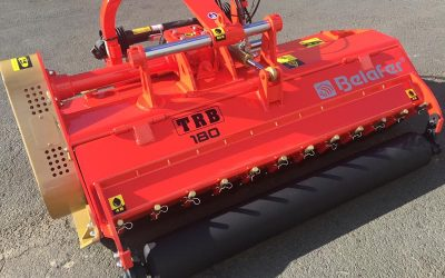 TRB reinforced crusher for mowing and crushing