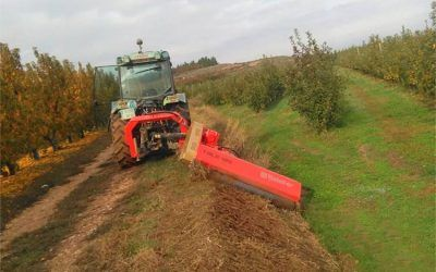 Semi-suspended TBL-L crusher. Belafer agricultural machinery