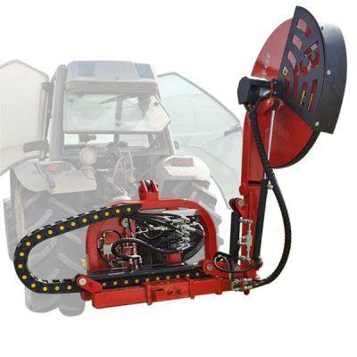 Tracteur avec brosse 1P et 2P