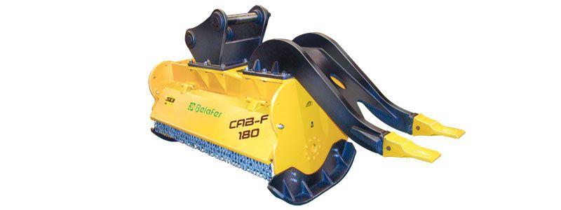 Cabezales: CAB-F para excavadoras
