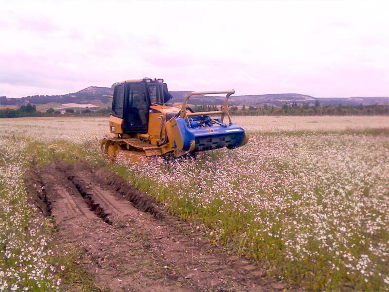 Concasseur Belafer amovible pour tracteurs