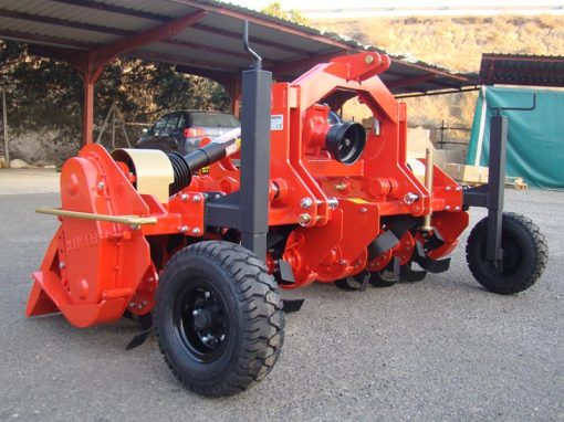 fresadora FFL multicuerpo con ruedas belafer doble cuerpo