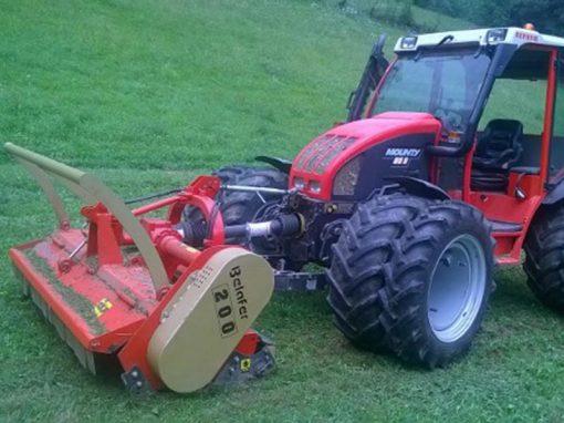 trituradora TR Basic Avant broyeur belafer tractor mounty
