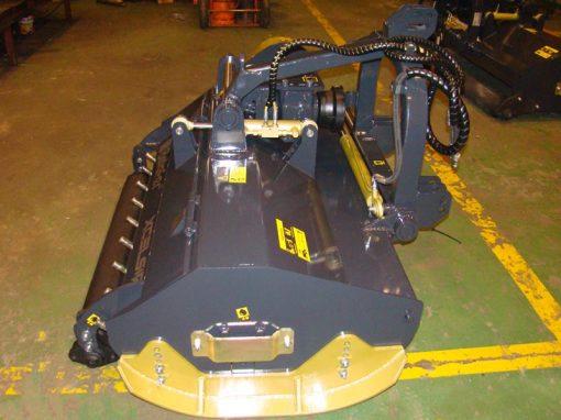trituradora TRB-Raw con puerta y rejas traseras