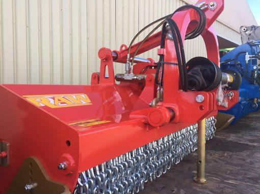 trituradora TRB-Raw hidraulica con puerta trasera