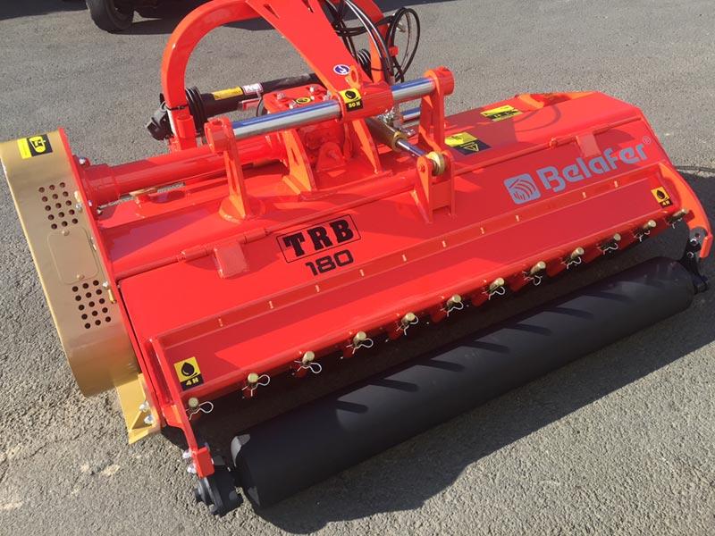 Trituradora Reforzada trb raw belafer detalle porton hidraulico