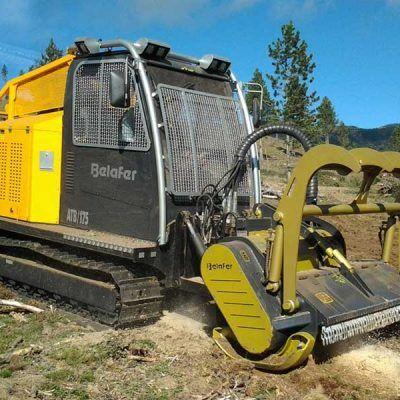 Tractor Hidrostático Forestal