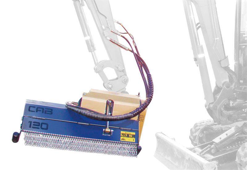 Cabezales CAB SPC para mini excavadoras de 1500 a 2500 kg